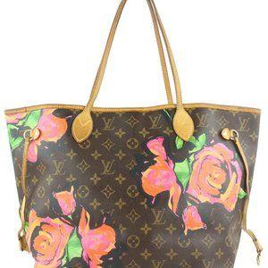 Louis Vuitton Stephen Sprouse Graffiti Roses Never